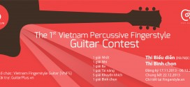 Thông tin The 1st Vietnam Percussive Fingerstyle Guitar Contest