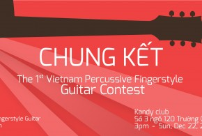 [Videos] Chung kết The 1st Vietnam Percussive Fingerstyle Guitar Contest