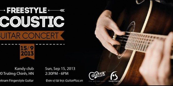 [Photos] Freestyle Acoustic Guitar Concert