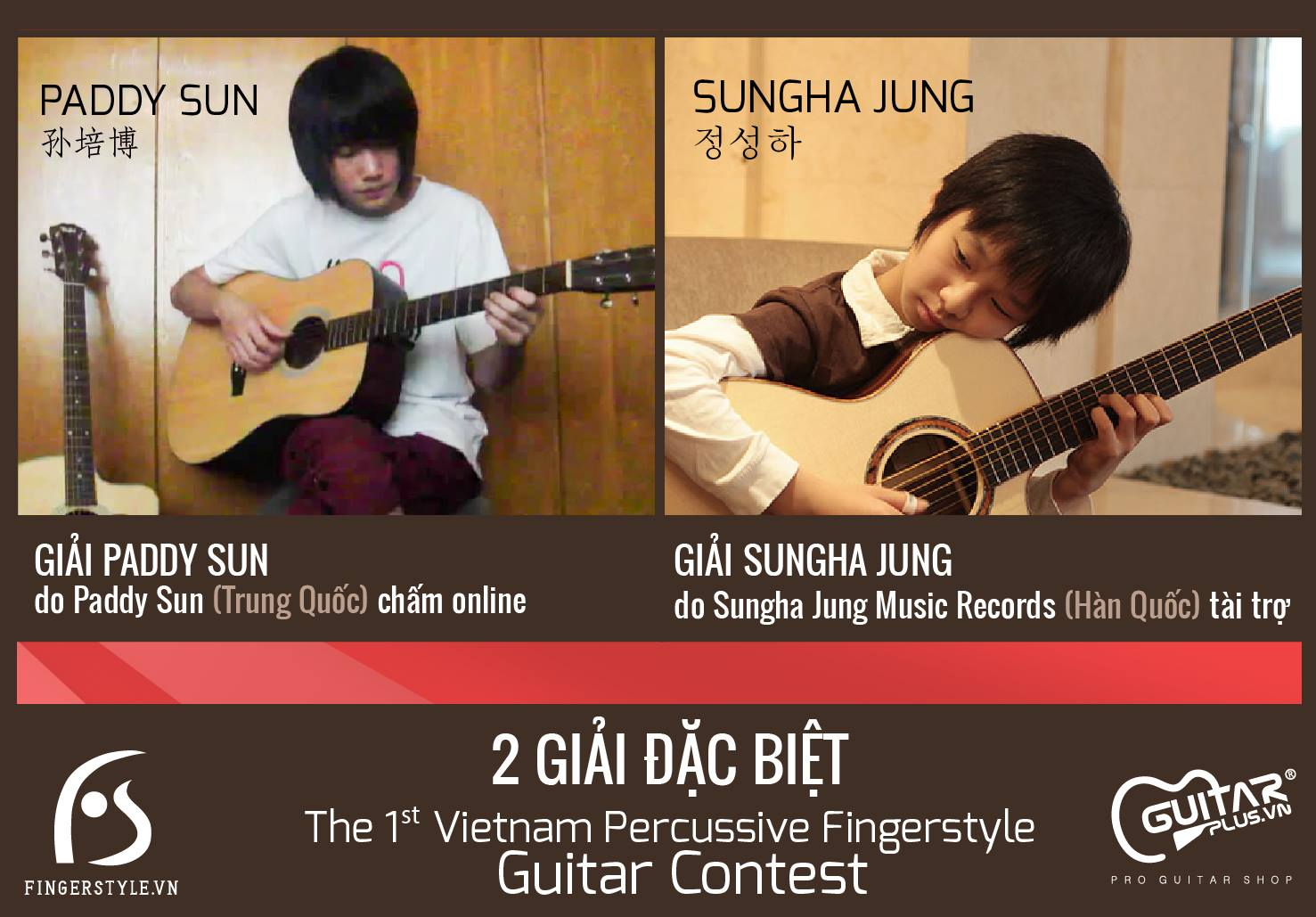 [Posters] The 1st Vietnam Percussive Fingerstyle Guitar Contest
