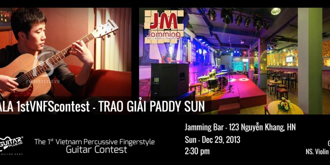 [Photos] Gala 1stVNFScontest – Trao giải PADDY SUN