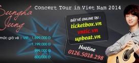 "Tặng ""100 vé VIP FREE"" Sungha Jung concert HCM"
