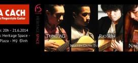 PHÁ CÁCH – Đêm Guitar dòng Percussive Fingerstyle