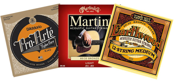 Làm thế nào để chọn được loại dây phù hợp cho đàn guitar classic hoặc guitar acoustic