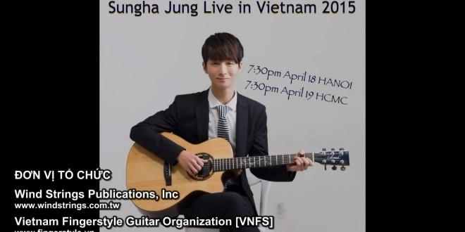 [Video] Sungha Jung nói về Concert 4/2015 tại Việt Nam