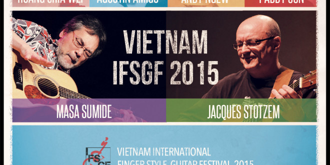 Vietnam International Finger-Style Guitar Festival 2015