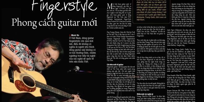 Tạp chí Làng Việt – Fingerstyle phong cach guitar mới (7/2015)