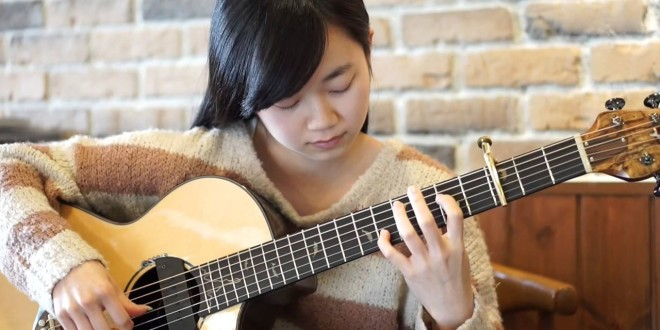 Khi con gái chơi fingerstyle guitar? (Phần 1)