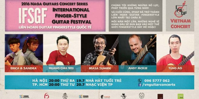 Vietnam International Finger-Style Guitar Festival 2016