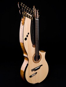 Greenfield Harp guitar HG1.2