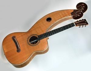 Ron Spillers Harp guitar