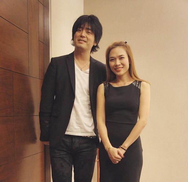 Mỹ Tâm và nghệ sĩ guitar Oshio Kotaro