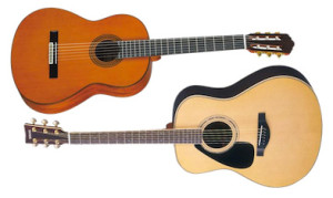 acoustic-and-nylon-string-guitar
